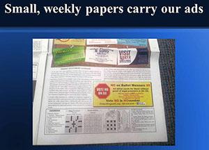 Protect Oregon Driver Licenses newspaper ad